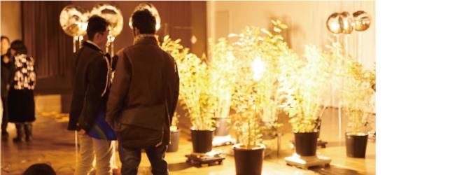 金沢美術工芸大学・北國銀行連携事業として開催された「秋吉かずき個展 有機体」