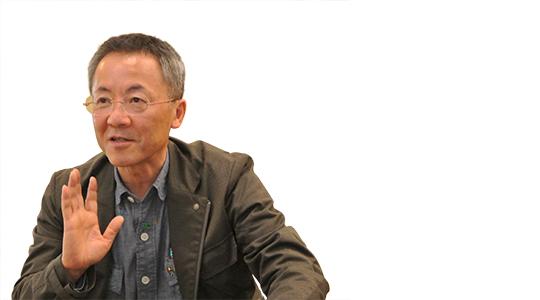 金沢アートグミ理事長の真鍋淳朗氏