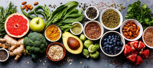 いろいろな食材をバランスよく食べましょう