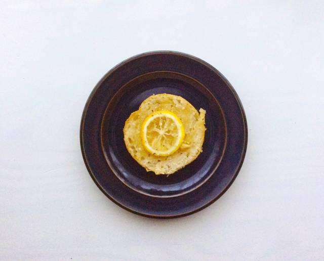 ゆずジンジャーシロップを塗ったトースト