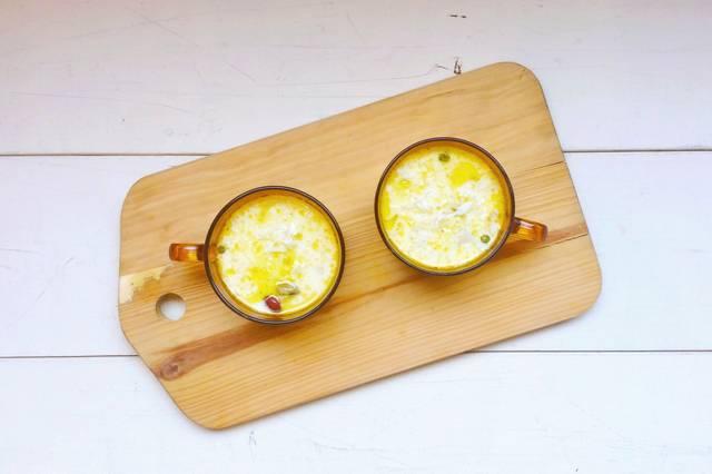 コクのある豆乳スープ