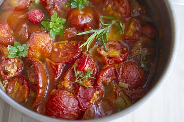 Free photo: Stewed Tomatoes, Dish, Soup - Free Image on Pixabay - 2140049 (3322)