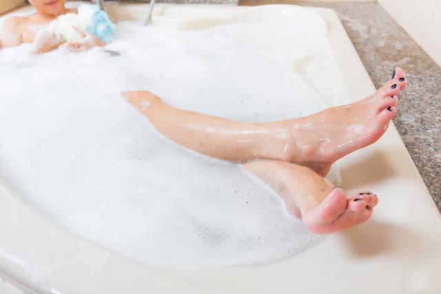 脚痩せに成功した人が行っている習慣3つ目|その日の疲れは必ず湯船で取る!