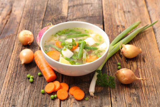 短期間で脚やせできる方法3つ目|野菜スープで一石二鳥!?脚やせだけでなく全身やせ!