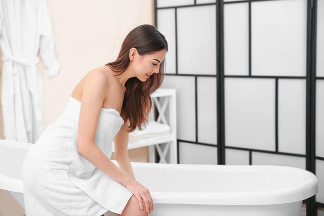 毎日の半身浴で脚のむくみを解消しよう!