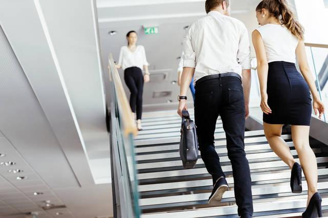 脚やせ成功への道3|運動が苦手・できない人はエレベーターではなく階段を使う