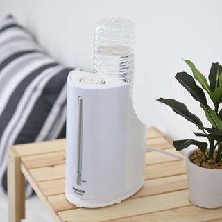 山善] ペットボトル式 加熱式 加湿器アロマポット付 ホワイト KP-C056(W) [メーカー保証1年] | 山善(YAMAZEN) | ホーム&キッチン 通販