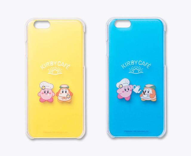 iPhoneケース (カービィ&ワドルディ イエロー/ブルー