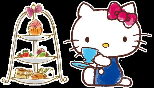 キティカフェでティータイム♡料理も空間が可愛くて胸がいっぱい