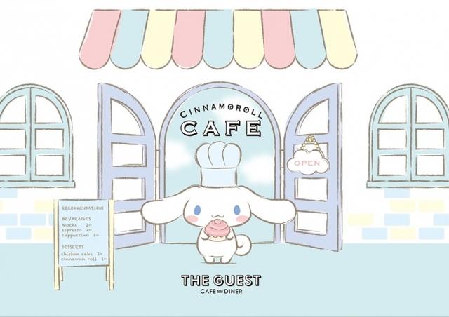 可愛すぎるシナモロールカフェ♡次のオープンはいつかしら。