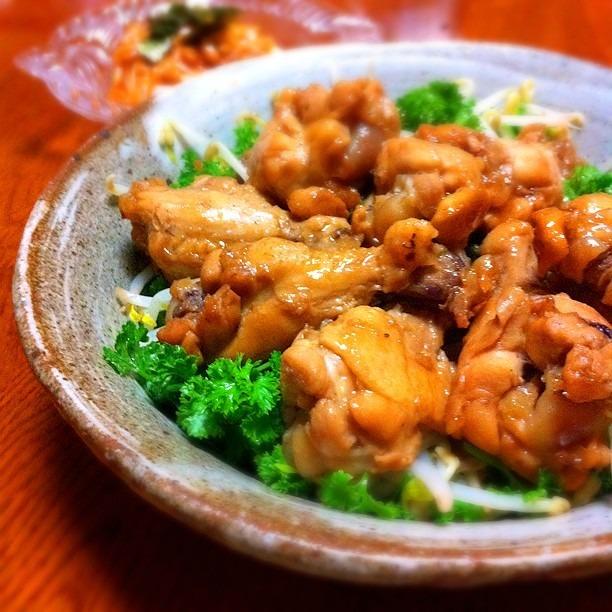 漫画再現レシピ|鶏手羽元のにんにく醤油煮