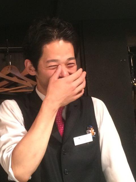 真っ赤になった前田さん