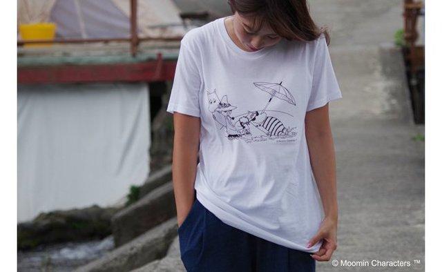 オーガニックコットンTシャツ(ビーチ)