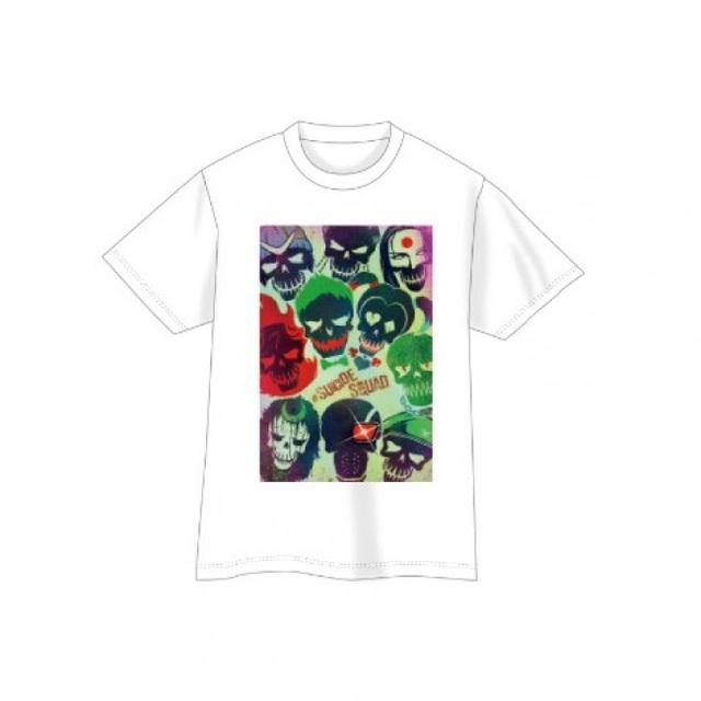 【SUICIDE SQUAD】Tシャツ・skull