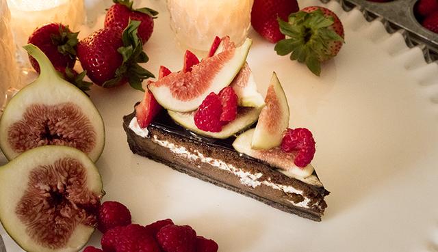 キャンドルナイトケーキ(イチジク)