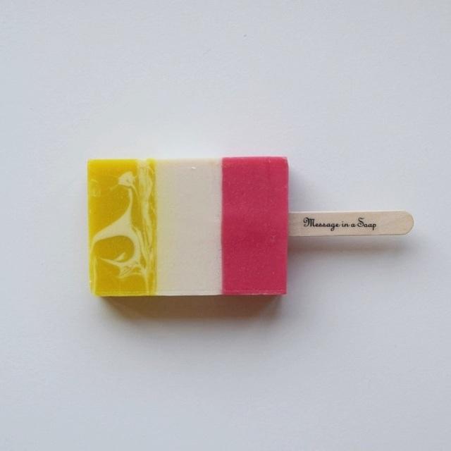 メッセージ・インナ・ソープ ice cream soap bar sugar&kiss