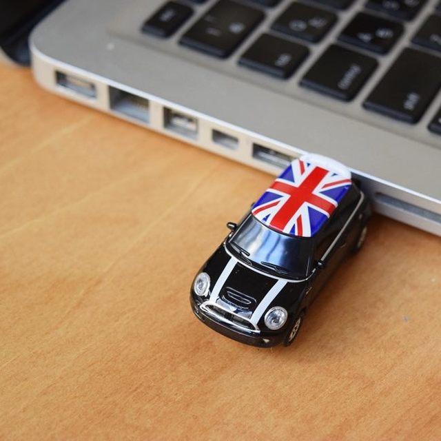 USB Minicooper ブラック UK