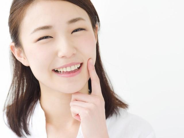 白い歯のメリット