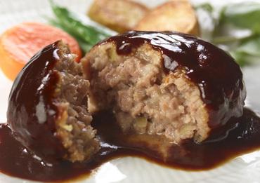 「洋食亭®」ジューシーハンバーグ 1個入り 調理後