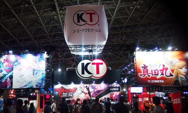 東京ゲームショウ2016で出展されていたコーエーテクモゲームス