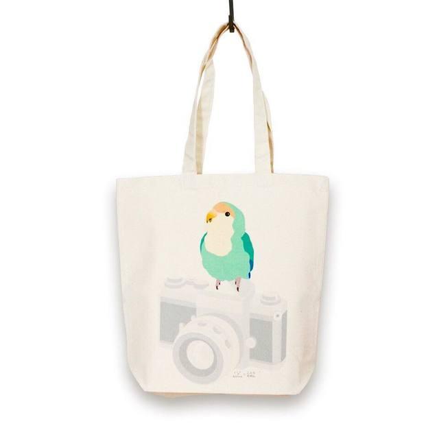 小鳥 トートバック