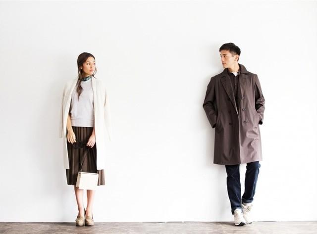 Uniqlo Uのプリーツスカートを使ったコーデ02