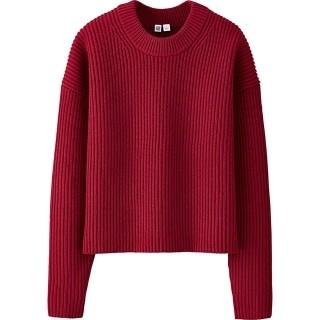Uniqlo Uのラムクロップドクルーネックセーター