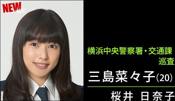 三島奈々子(20)/桜井日奈子さん
