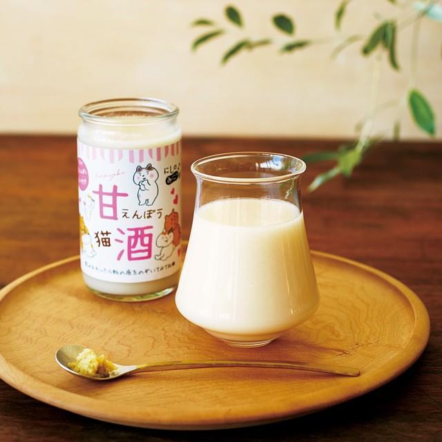にしのみにゃ部 甘えんぼう猫酒〈甘酒〉(6本入り)の会