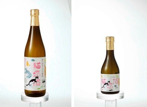にしのみにゃ部 猫恋酒<日本酒・極甘口>(1本)