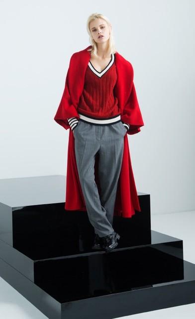 校閲ガールで着用のstyling(スタイリング)Trad Knit Tops