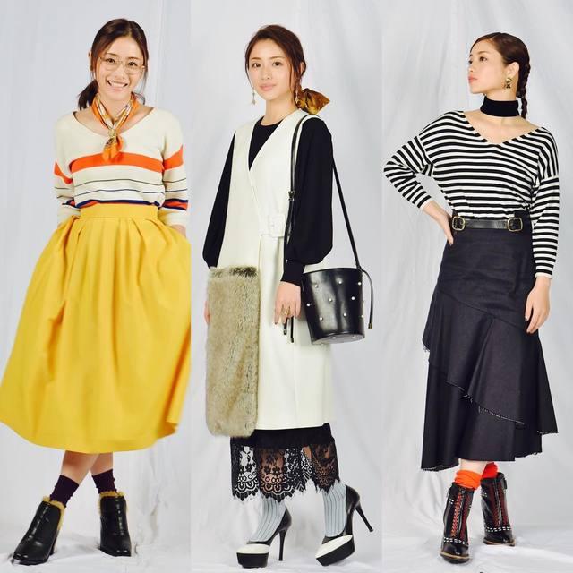 校閲ガールのファッションチェック