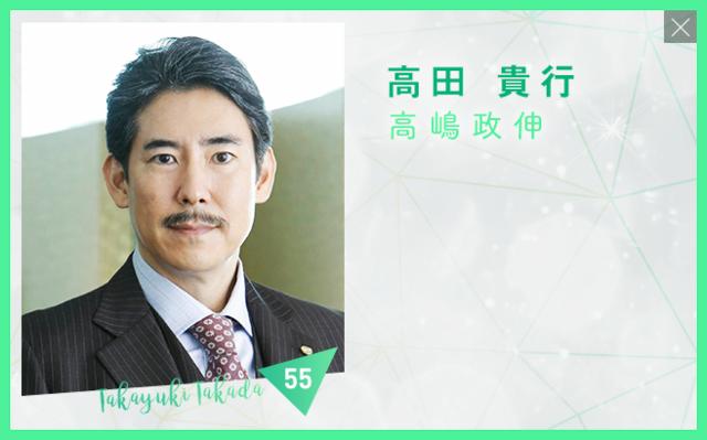 カインとアベル/高田貴行/高嶋政伸さん