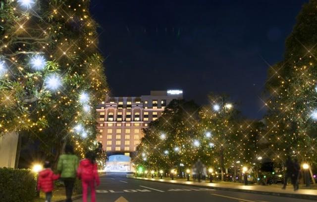 イルミネーション、ホテルオークラ東京ベイ