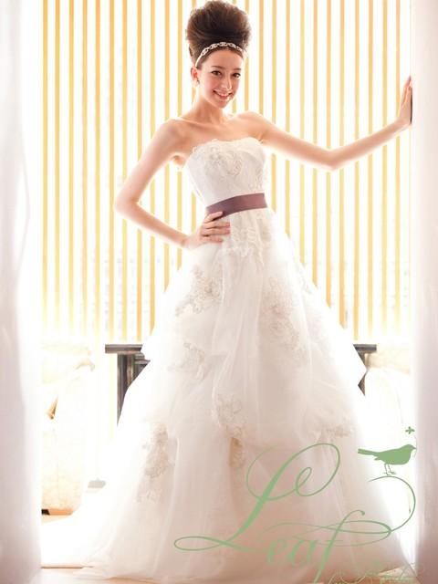 ウェディングドレス人気ブランドのQuattro Leaf(クワトロリーフ)