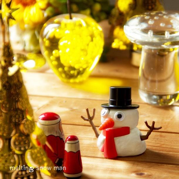 クリスマスの飾り付け、メルティングスノーマン