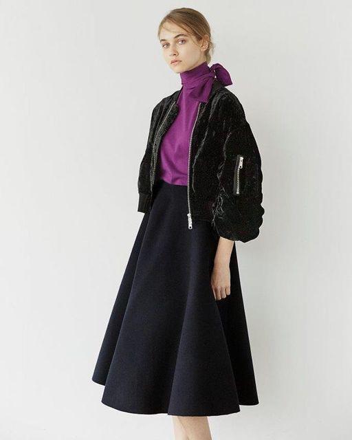 河野悦子 ファッション LE CIEL BLEU(ルシェルブルー)