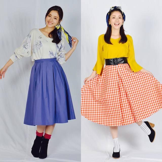 河野悦子 ファッション 石原さとみさん