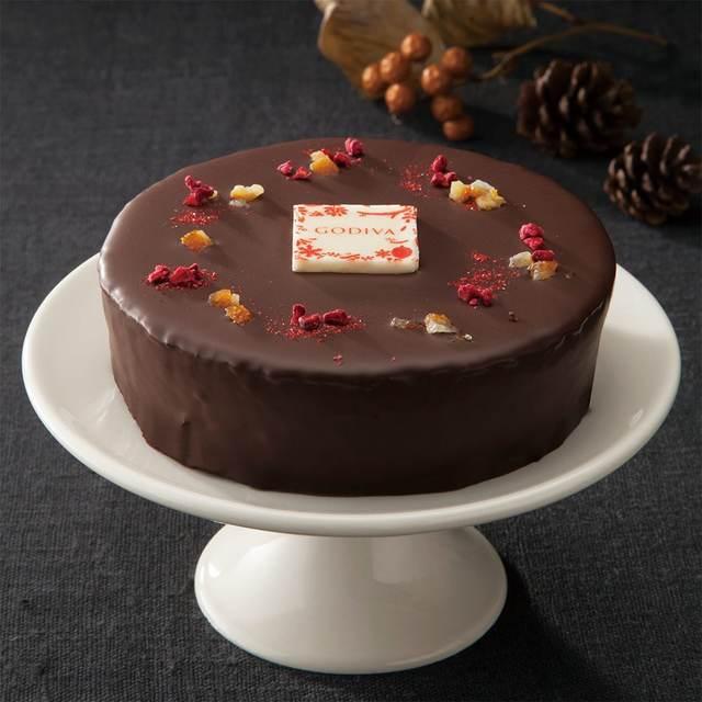 クリスマスケーキ/フリズ ド ノエル ガトー オ ショコラ オランジェ