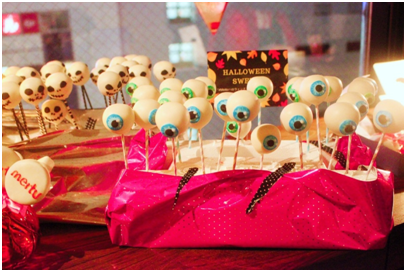 BeautyPlusで有名なmeituのハロウィンパーティのスイーツ02