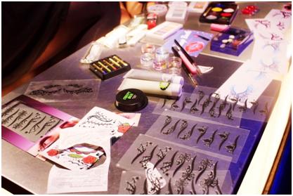 BeautyPlusで有名なmeituのハロウィンパーティのメイクブース