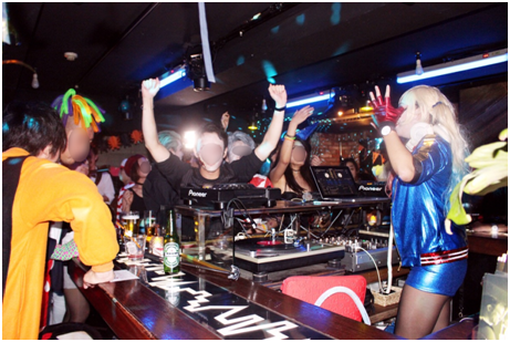 BeautyPlusで有名なmeituのハロウィンパーティ DJ02