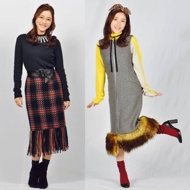 河野悦子のファッション02