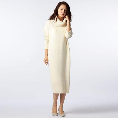 クリスマスデート女性服/ノーリーズ/Victorian Lambswool ニットワンピース