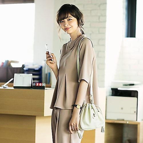 30代モテファッション/トフアンドロードストーン/【ブルーマー】ミニ巾着ショルダーバッグ