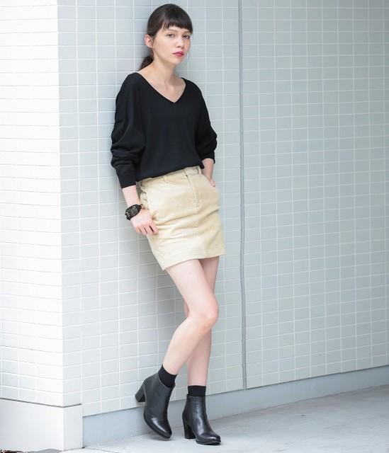男ウケファッション/生脚
