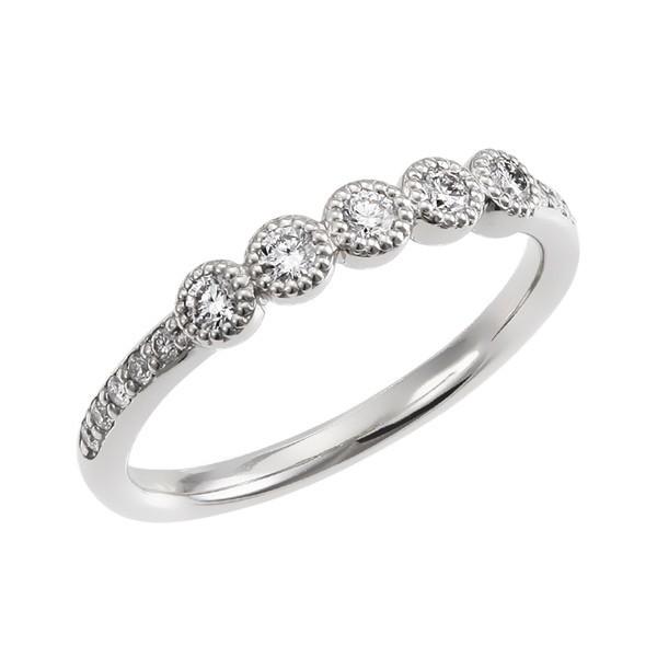 クリスマスジュエリー/ポンテベッキオ/Pt999ダイヤモンドリング