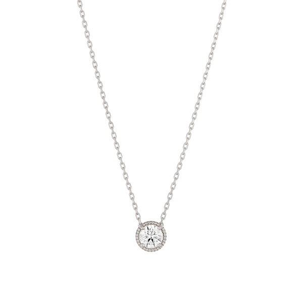 クリスマスジュエリー/ポンテベッキオ/Pt999ダイヤモンドネックレス