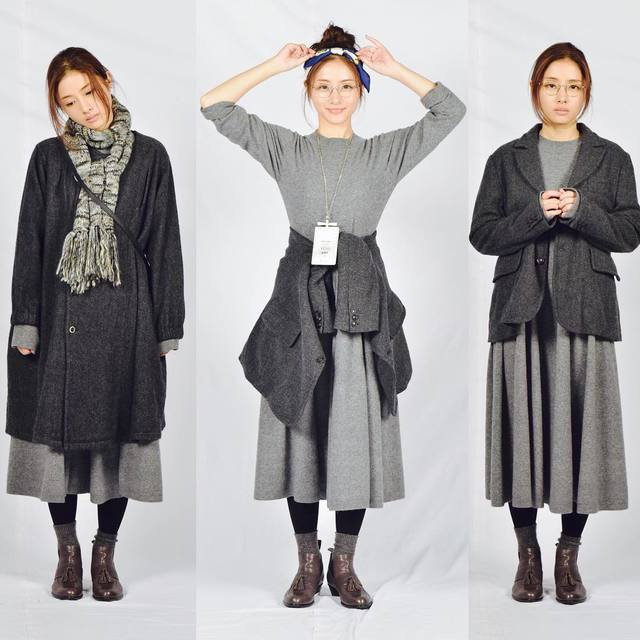 地味スゴのファッション 地味なファッション
