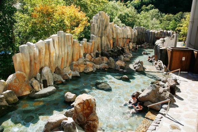 北海道の混浴温泉 層雲峡観光ホテル